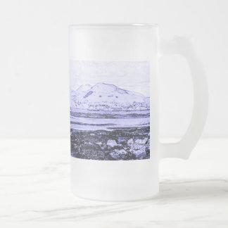 Connemara 16 Oz Frosted Glass Beer Mug