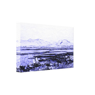 Connemara Coast Canvas Print