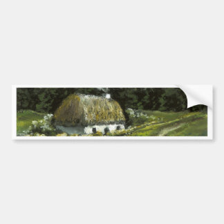 Connemara cottage car bumper sticker