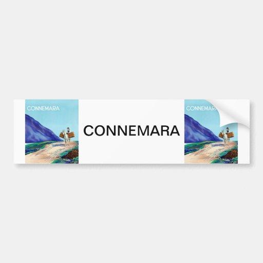 Connemara Etiqueta De Parachoque