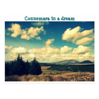 Connemara in dream postcard