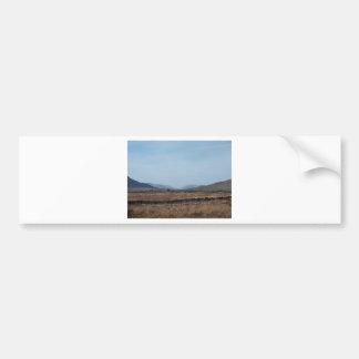 Connemara Landscape Car Bumper Sticker
