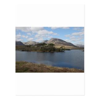 Connemara landscape postcard