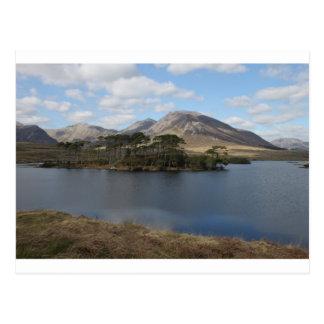 Connemara landscape post card