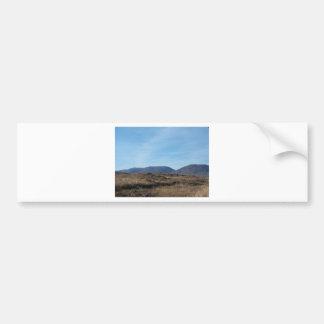 Connemara Mountains Car Bumper Sticker