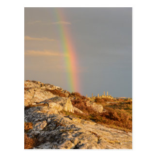 Connemara Rainbow Postcard