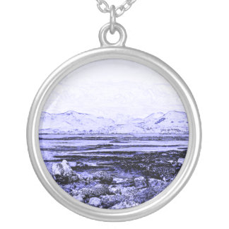 Connemara Round Pendant Necklace