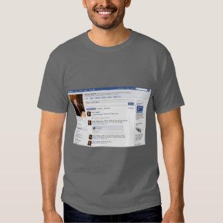Connessa del maglietta del La un FB Polera