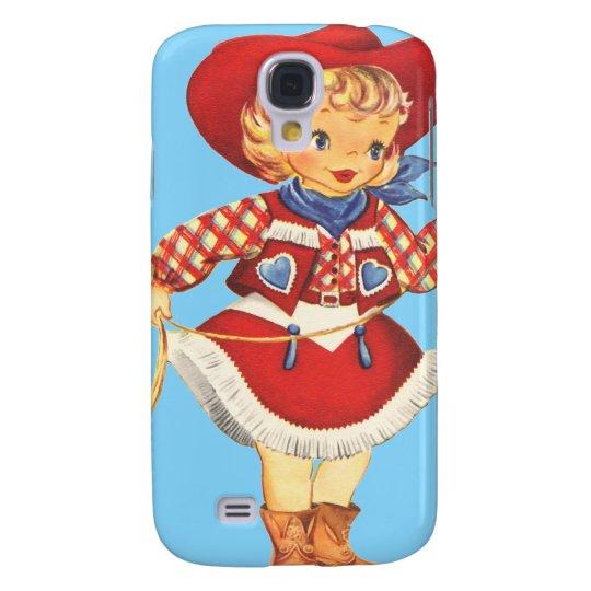 Connie Cowgirl Samsung Galaxy S4 Case
