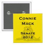 Connie Mack for Senate Tea-Party Button
