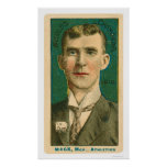 Connie Mack Manager Baseball 1910 Posters