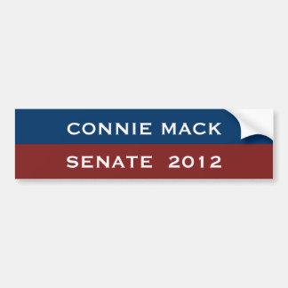 Connie Mack para la pegatina para el parachoques d Etiqueta De Parachoque
