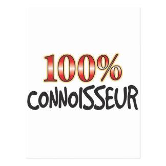 Connoisseur 100 Percent Postcard