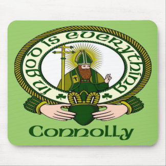 Connolly Clan Motto Mouse Pad