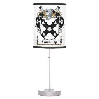 Connolly Family Crest Desk Lamp