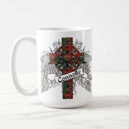 Connolly Tartan Cross Coffee Mug