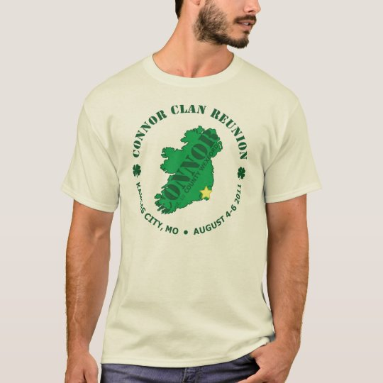 Connor Clan Family Reunion T-shirt 1