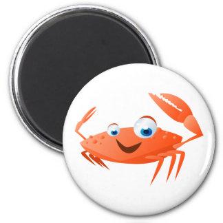 Connor el cangrejo imán redondo 5 cm