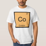 Connor Name Chemistry Element Periodic Table T-Shirt