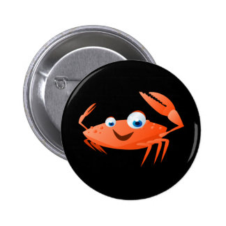 Connor The Crab 2 Inch Round Button
