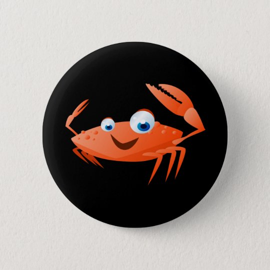 Connor The Crab Pinback Button