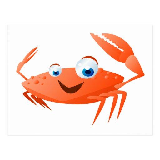Connor The Crab Postcard