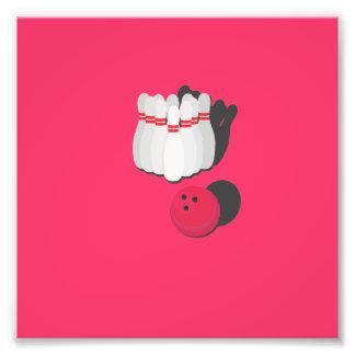 cono con la bola de bolos cojinete