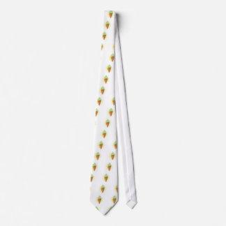 Cono de helado corbata