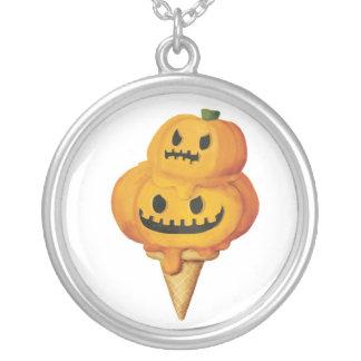 Cono de helado de la calabaza de Halloween Colgantes Personalizados