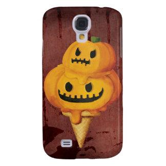 Cono de helado de la calabaza de Halloween