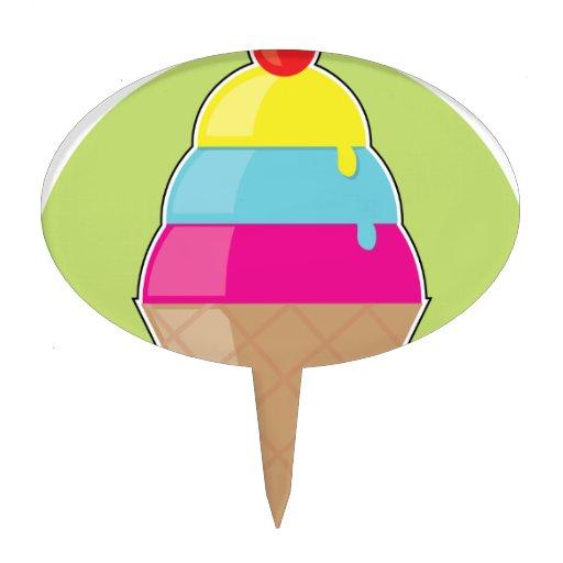 Cono de helado figura para tarta