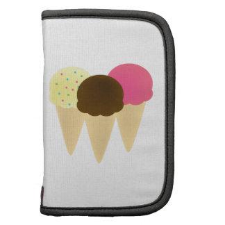 Cono de helado planificador