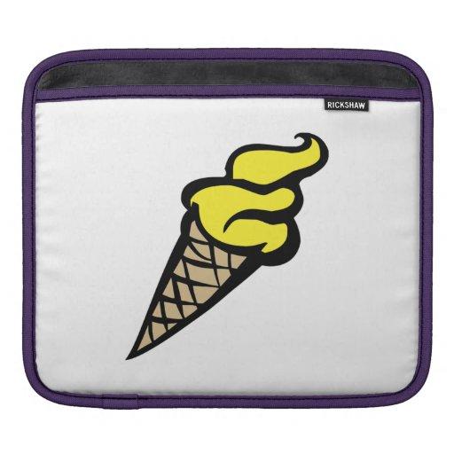 Cono de helado funda para iPads