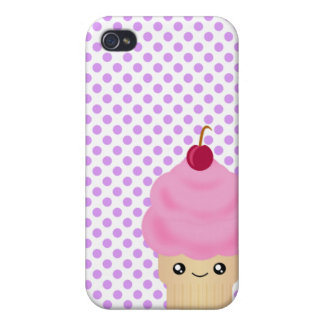 Cono de helado lindo de 4 Kawaii iPhone 4 Carcasas