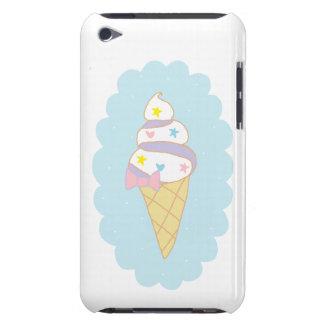 Cono de helado lindo del remolino iPod Case-Mate carcasas
