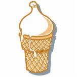 cono de helado retro esculturas fotográficas
