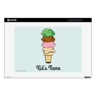 Cono de helado skins para portátiles