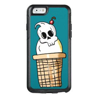 Cono del cráneo del helado funda otterbox para iPhone 6/6s