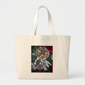 Cono del navidad bolsa de mano