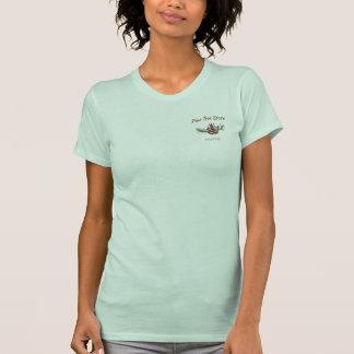 Cono del pino de Maine Camisetas