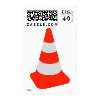 Cono del tráfico sello