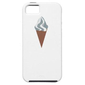 Cono poner crema de Vanilla Ice iPhone 5 Case-Mate Carcasa