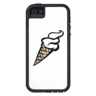 Cono poner crema de Vanilla Ice iPhone 5 Protectores