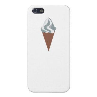 Cono poner crema de Vanilla Ice iPhone 5 Carcasas