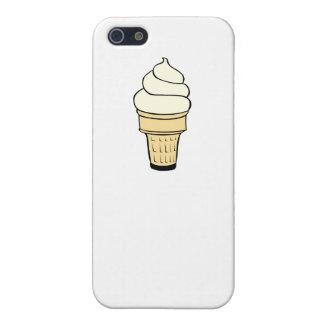 Cono poner crema de Vanilla Ice iPhone 5 Protector