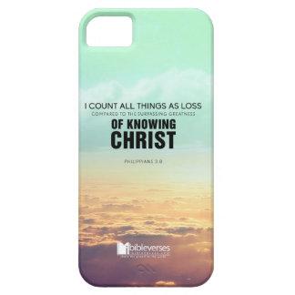 Conocer a Cristo iPhone 5 Cárcasa