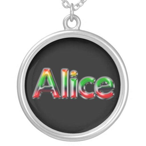~ conocido de Alicia del ~ del collar