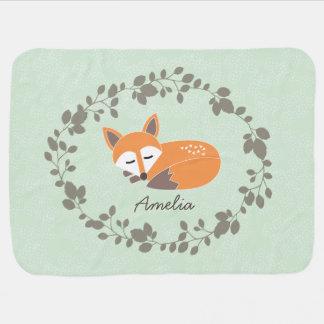 Conocido de encargo poca manta del bebé del Fox Mantas De Bebé