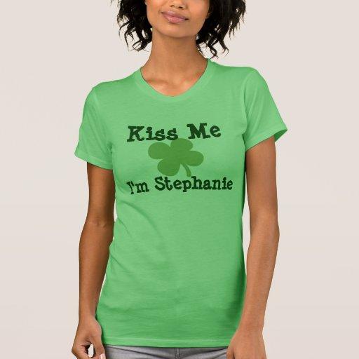 Conocidos personalizada me besan las señoras del d camisetas
