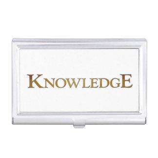 Conocimiento Cajas De Tarjetas De Presentación